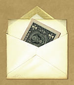you might have to wait for your lost funds to arrive in the mail